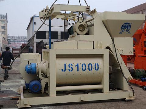 JS1000强制搅拌机