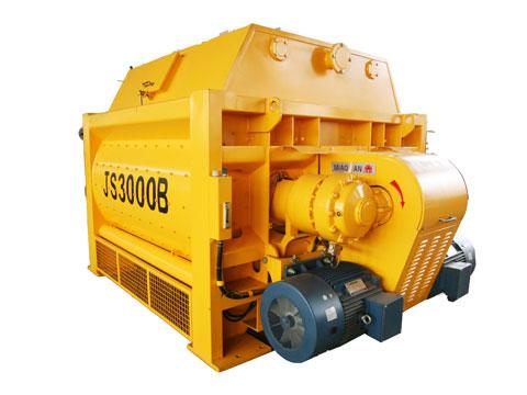 js3000强制式混凝土搅拌机