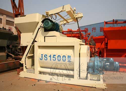 双卧轴搅拌机型号js1500