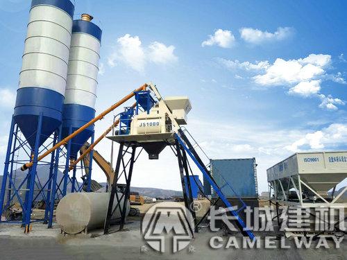 长城js500/750/1000型强制式搅拌机高清图片及价格