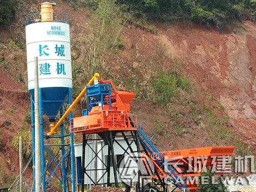 js750混凝土搅拌机一套设备有多重