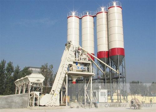 时产90方混凝土搅拌站设备