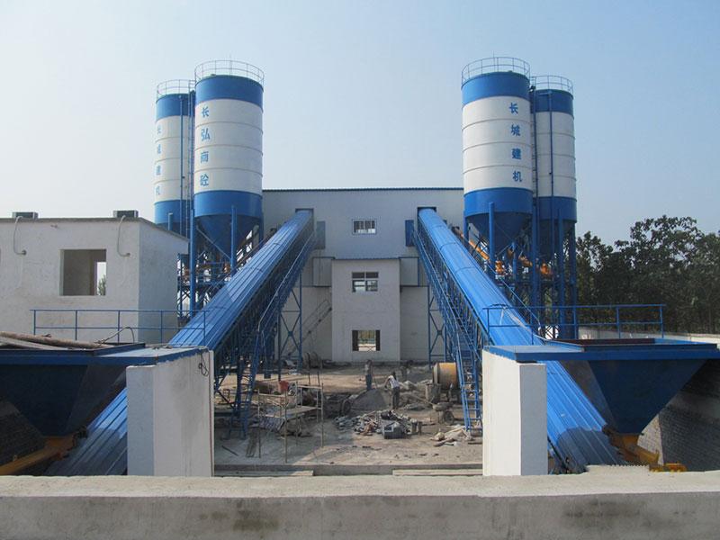 建一套hzs120混凝土搅拌站设备费用清单